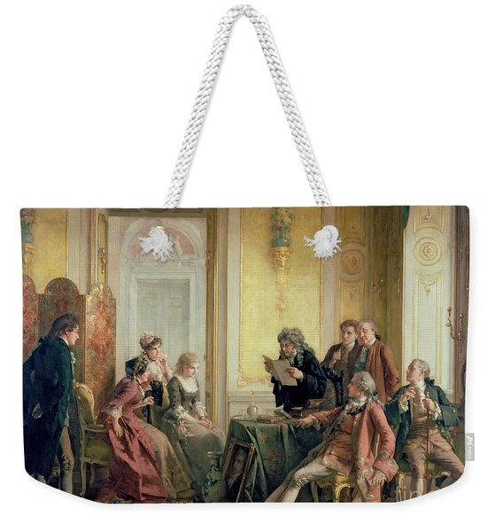 Reading The Will Weekender Tote Bag