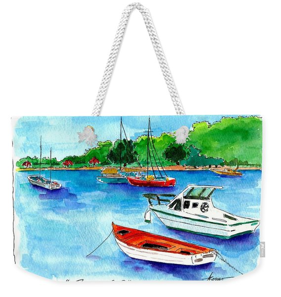 Ready To Go Weekender Tote Bag