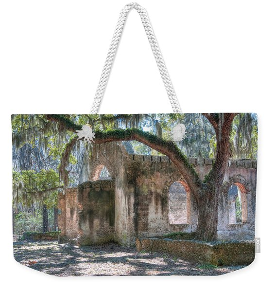 Rear View Of The Chapel Of Ease Weekender Tote Bag