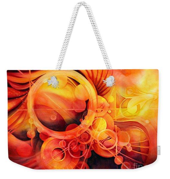 Rebirth - Phoenix Weekender Tote Bag