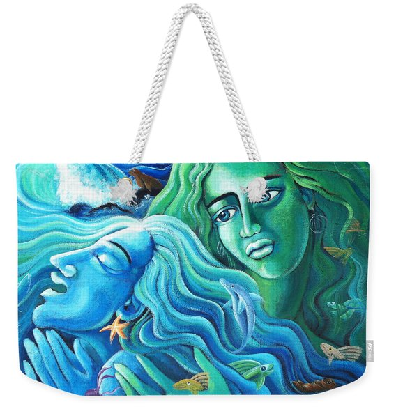 Reclaiming The Seas Weekender Tote Bag