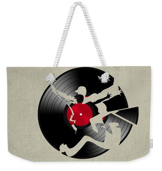 Record 2 Weekender Tote Bag