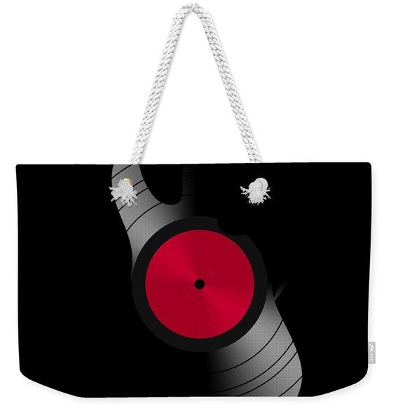 Record 4 Weekender Tote Bag