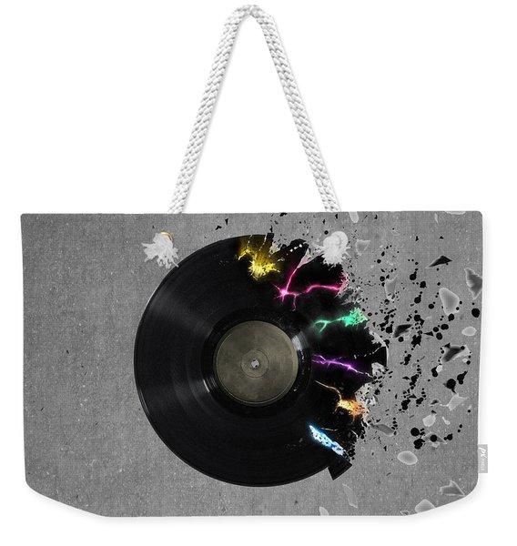 Record Weekender Tote Bag