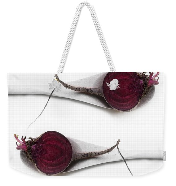Red Beets Weekender Tote Bag