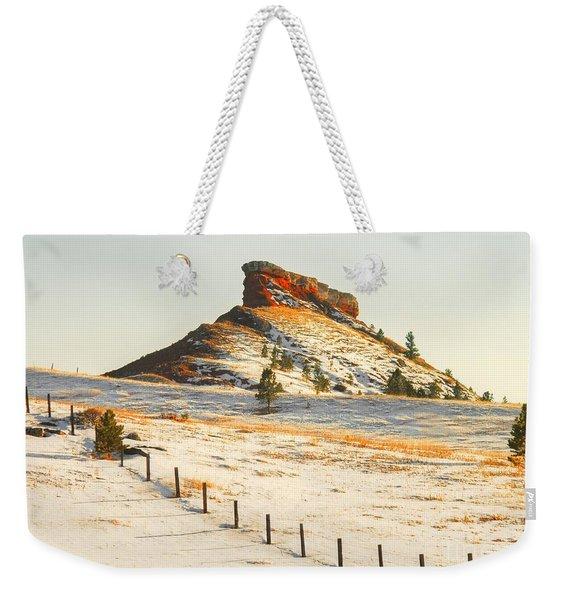 Red Butte Weekender Tote Bag