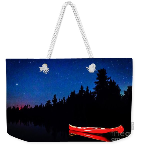 Red Canoe I Weekender Tote Bag