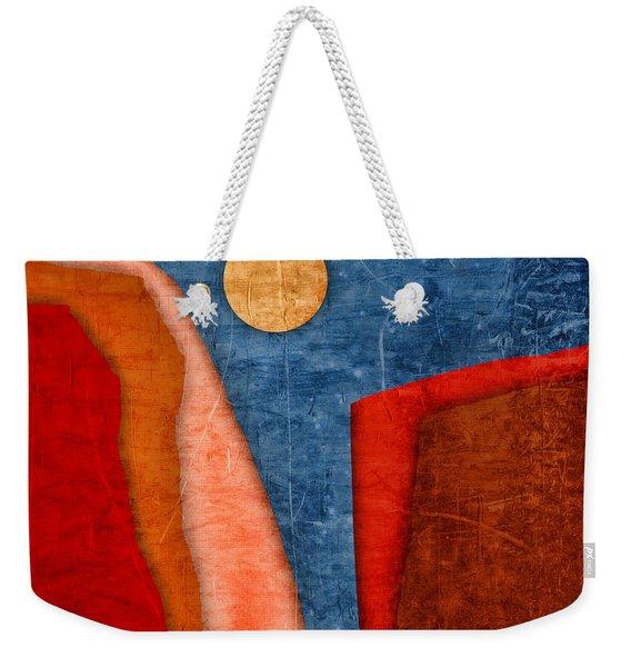 Red Canyons Weekender Tote Bag