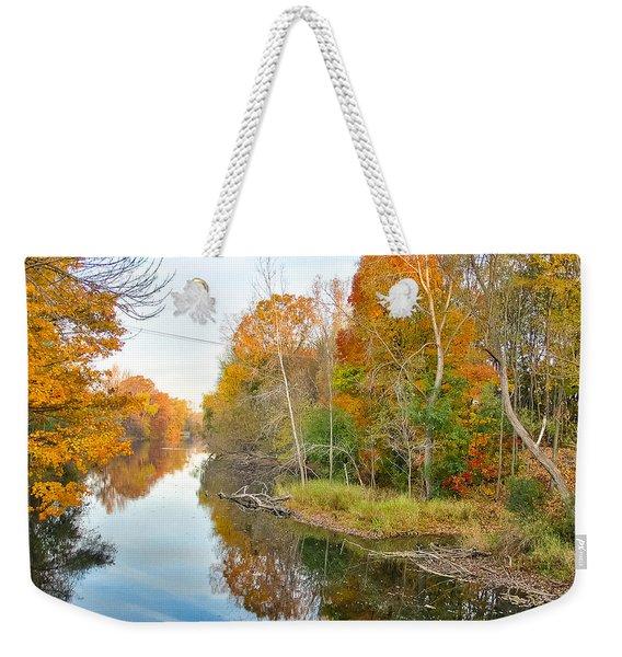 Red Cedar Fall Colors Weekender Tote Bag