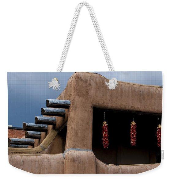 Red Chile Ristras Santa Fe Weekender Tote Bag