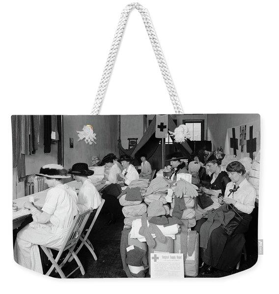 Red Cross Depot, C1920 Weekender Tote Bag