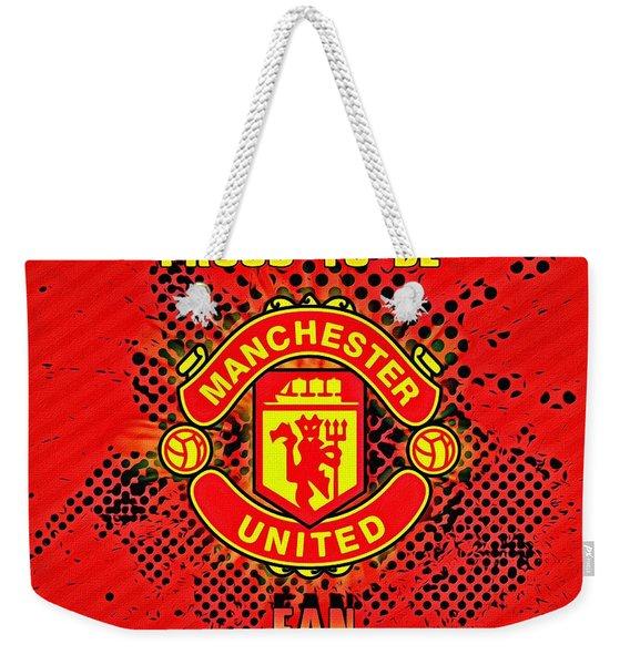 Red Devils Fan Poster Weekender Tote Bag
