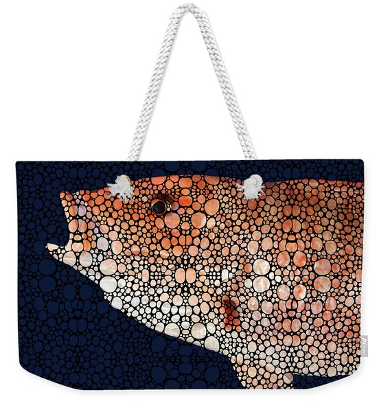 Red Grouper Fish - Florida Art By Sharon Cummings Weekender Tote Bag