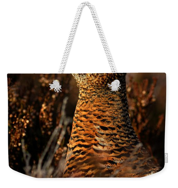 Red Grouse Weekender Tote Bag