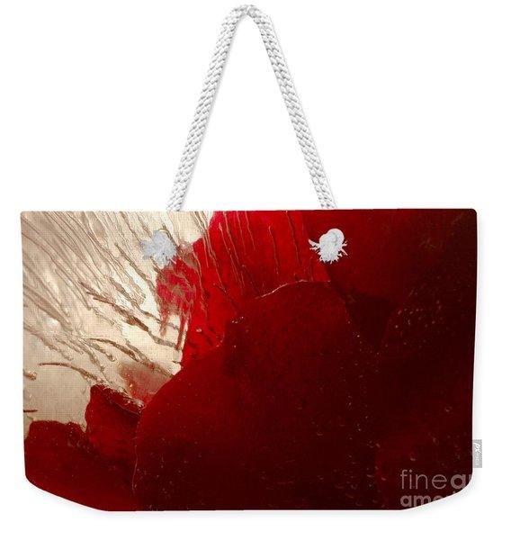 Red Ice Weekender Tote Bag