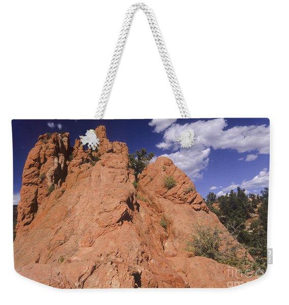Red Lyons Sandstone Rock Formation Weekender Tote Bag