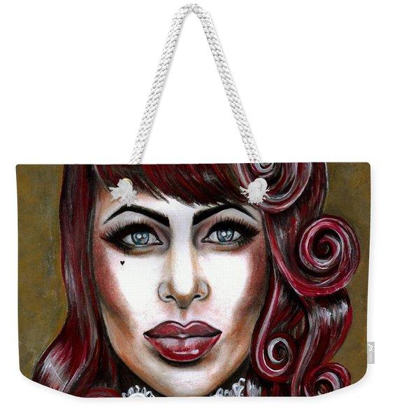 Red Muneca Weekender Tote Bag