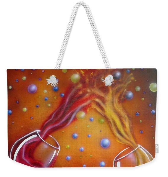 Red Or White Weekender Tote Bag