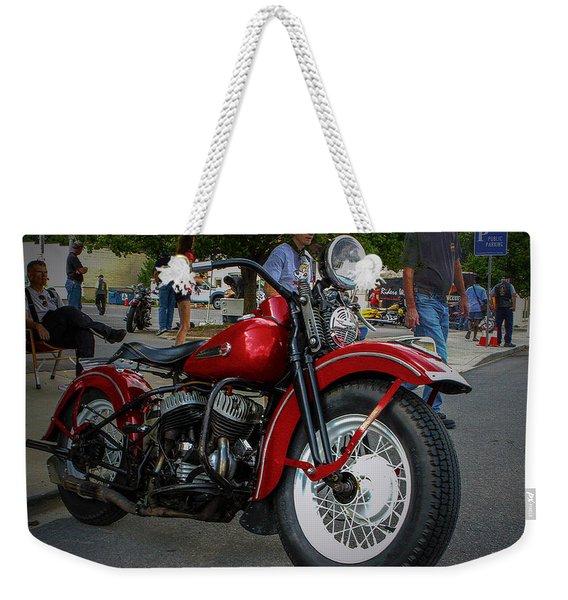 Red Rider Weekender Tote Bag