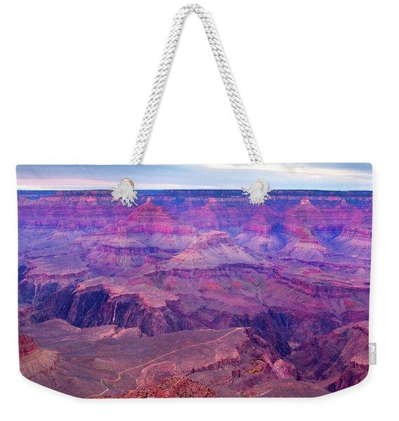 Red Rock Dusk Weekender Tote Bag