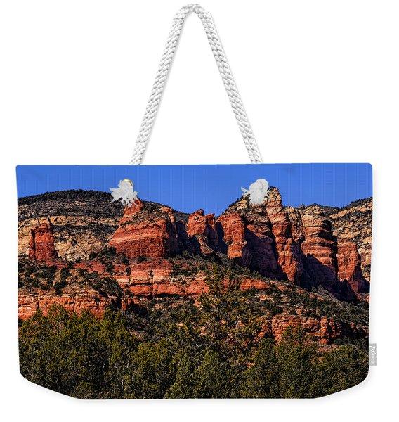 Red Rock Sentinels Weekender Tote Bag