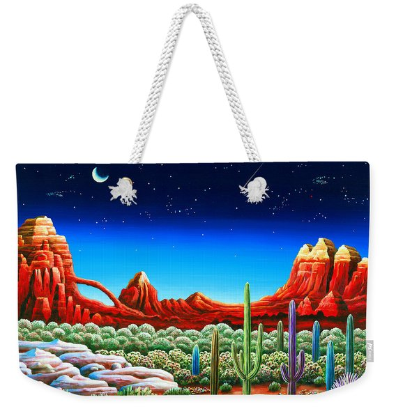 Red Rocks 5 Weekender Tote Bag