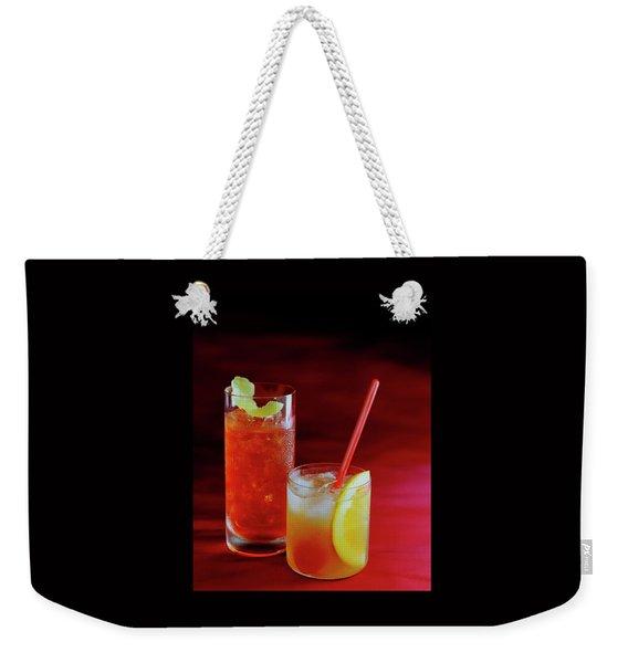 Red Rocktails Weekender Tote Bag