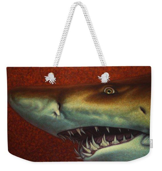 Red Sea Shark Weekender Tote Bag