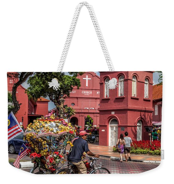 Red Square Malacca Weekender Tote Bag