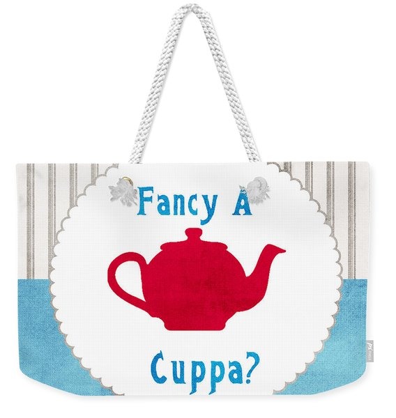 Red Teapot Weekender Tote Bag