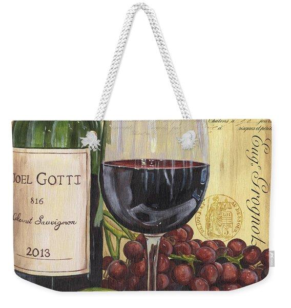 Red Wine And Pear Weekender Tote Bag