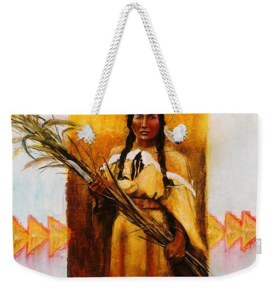 Reed Gatherer Weekender Tote Bag