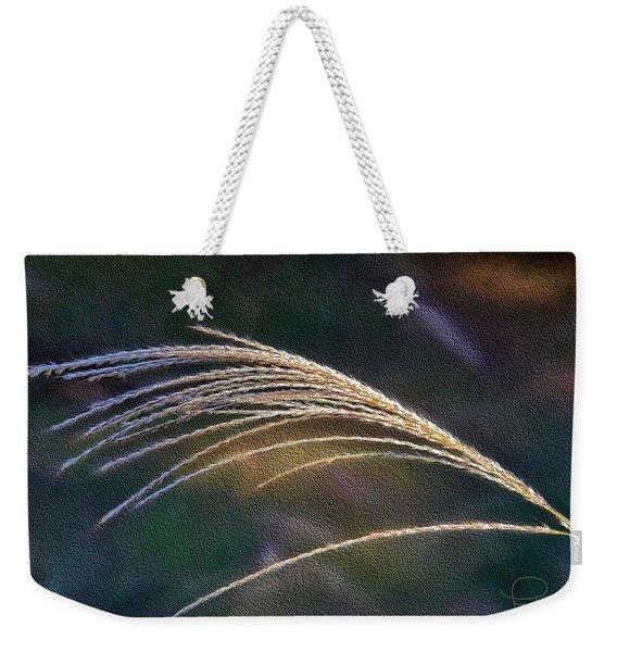 Reed Grass Weekender Tote Bag