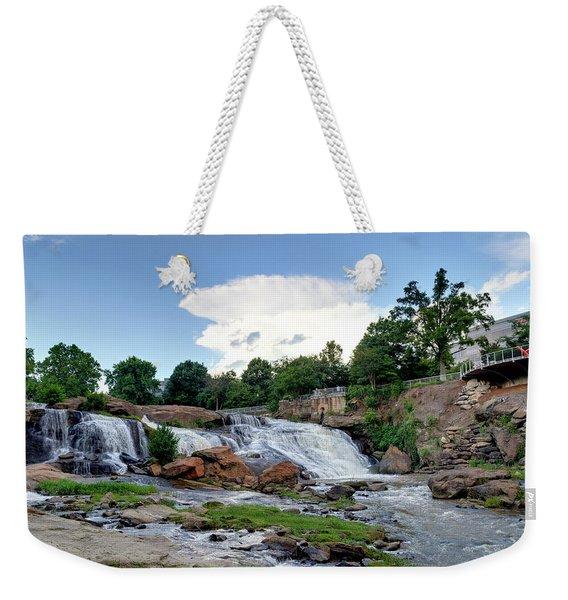 Reedy River Falls Weekender Tote Bag