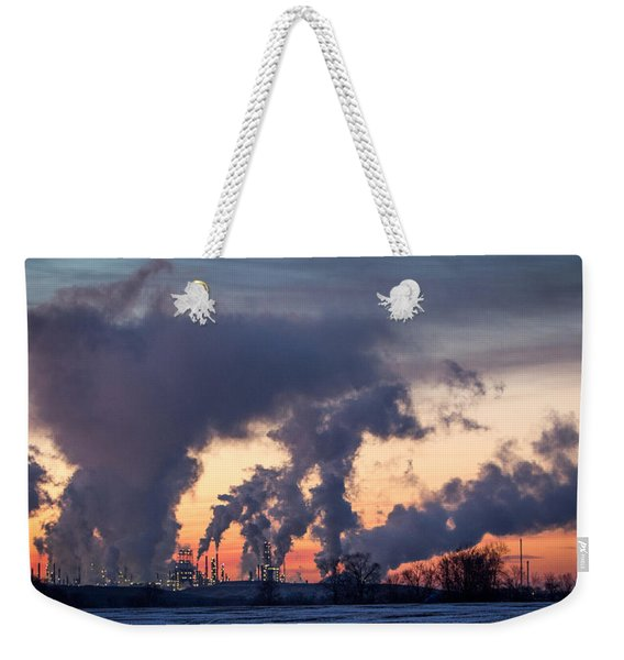 Flint Hills Resources Pine Bend Refinery Weekender Tote Bag