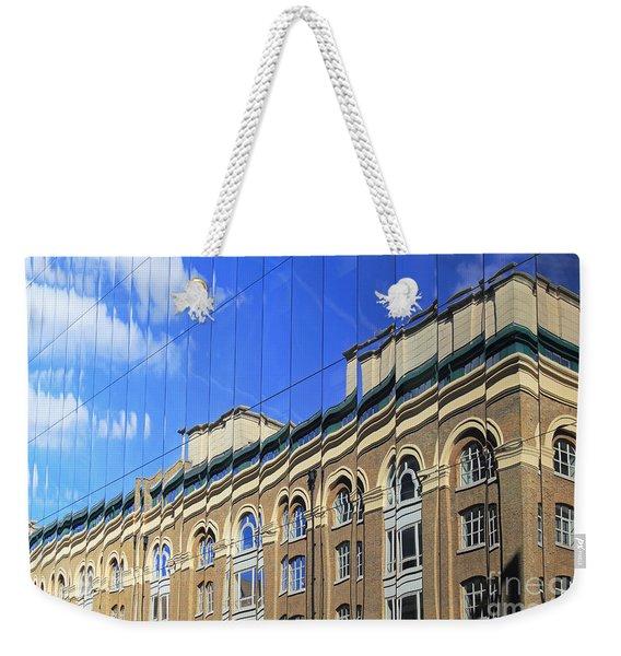 Reflected Building London Weekender Tote Bag