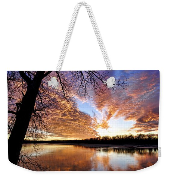 Reflected Glory Weekender Tote Bag