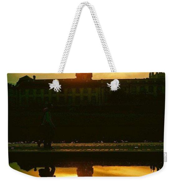 Reflected In Lyon, France Weekender Tote Bag