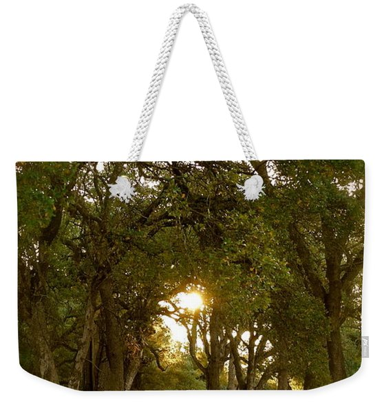 Reflection At Sunrise Weekender Tote Bag
