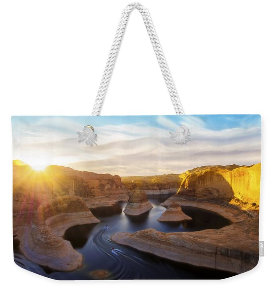 Reflection Canyon Weekender Tote Bag