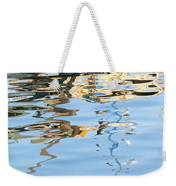 Reflections - White Weekender Tote Bag