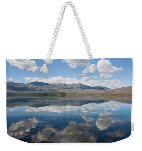 Reflections At Glacier National Park Weekender Tote Bag