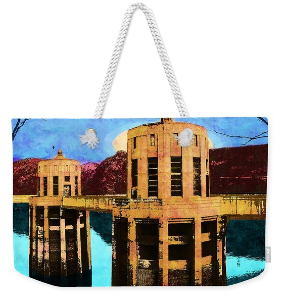 Reflections At Hoover Dam Weekender Tote Bag