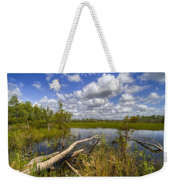 Reflections In The Glades Weekender Tote Bag