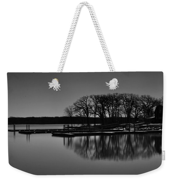 Reflections Of Water Weekender Tote Bag