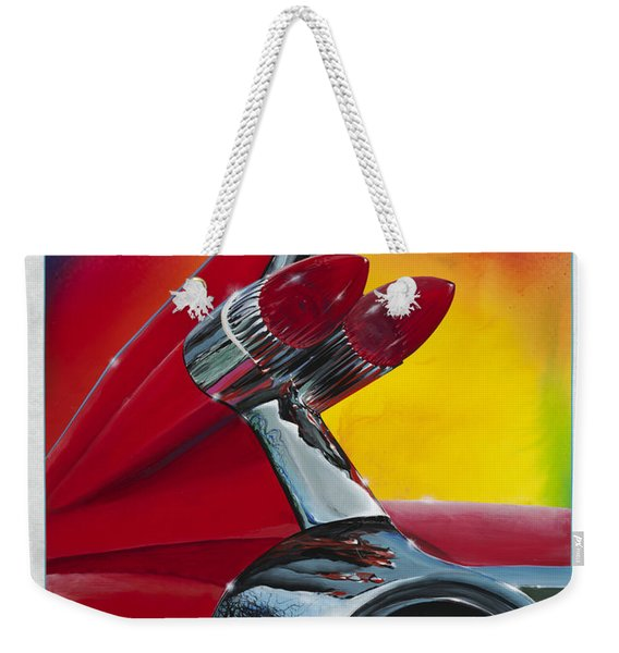 Reflections Of Yesterday Weekender Tote Bag