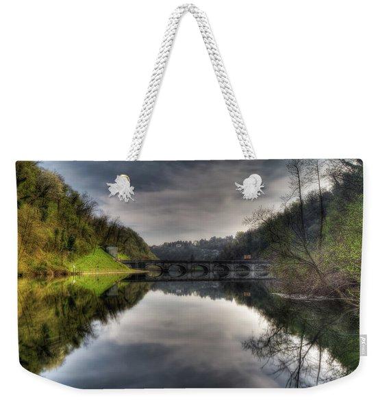 Reflections On Adda River Weekender Tote Bag
