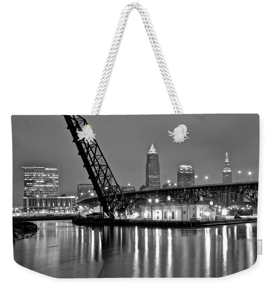 Reflections On The Cuyahoga Weekender Tote Bag
