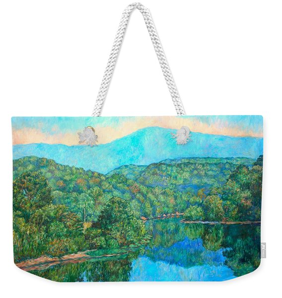 Reflections On The James River Weekender Tote Bag