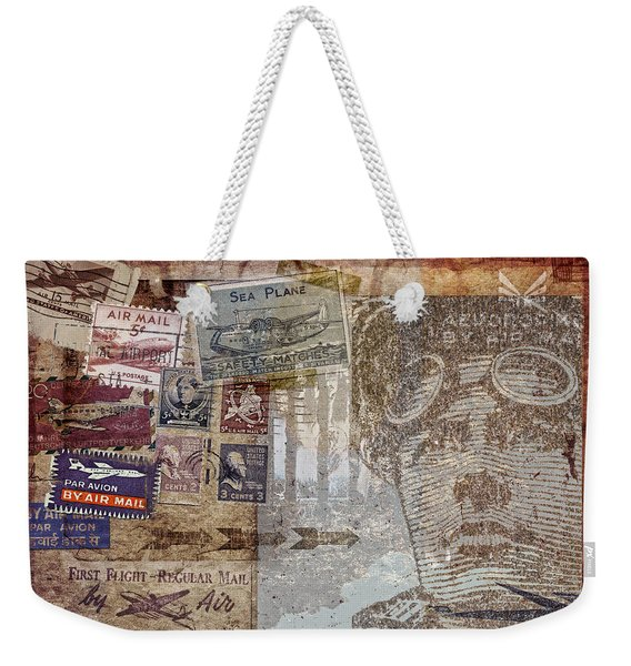 Regular Mail By Air Weekender Tote Bag